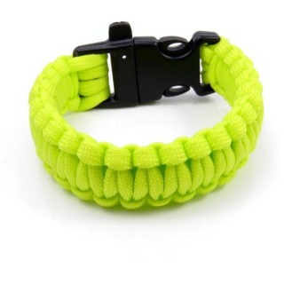 30682-16 NYLON 22 X 2 CM BRACELET WITH PLASTIC BUCKLE WITH WHISTLE