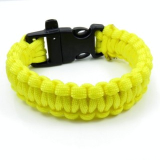 30682-22 NYLON 22 X 2 CM BRACELET WITH PLASTIC BUCKLE WITH WHISTLE
