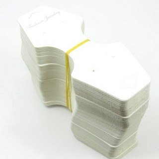 30847 PACK OF 200 CARDS FOR JEWELLERY 12,5 X 5 CM
