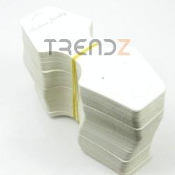 30847 PAQUETE 200 CARTULINAS PARA COLGAR 12,5 X 5 CM