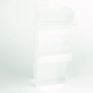 29289 ACRYLIC DISPLAY STAND FOR 2 PAIRS OF EARRINGS 6 X 15 CM