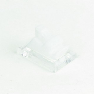 28054 PACK OF 10 PLASTIC 30 X 25 MM STANDS FOR RINGS