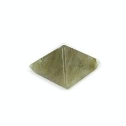 32260 LABRADORITE NATURAL STONE PYRAMID WITH 1 CM BASE