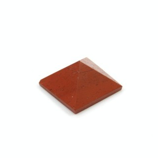 32260 RED JASPER NATURAL STONE PYRAMID WITH 1 CM BASE