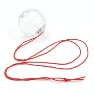 31768 FENG SHUI 30 MM FACETED GLASS CRYSTAL