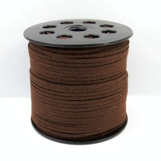 31670-02 90 M ROLL OF 3 MM SYNTHETIC SUEDE CORD