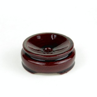 27829 WOODEN DISPLAY STAND FOR SPHERES. DIAMETER: 5 CMS