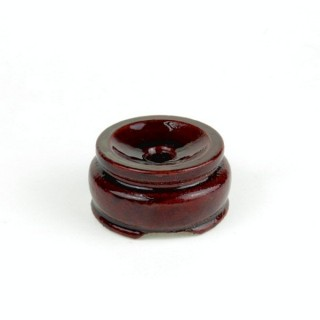 27828 WOODEN DISPLAY STAND FOR SPHERES. DIAMETER: 3.5 CMS