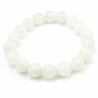 31492 ELASTIC MOONSTONE 11.5 - 12 MM HIGH QUALITY BRACELET