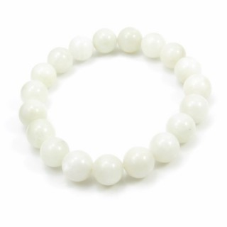 31494 ELASTIC MOONSTONE 10.5 - 11 MM HIGH QUALITY BRACELET