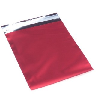 31922_ROJO PACK OF 100 AUTO-ADHESIVE CELOPHANE 10 X 12 CM BAGS