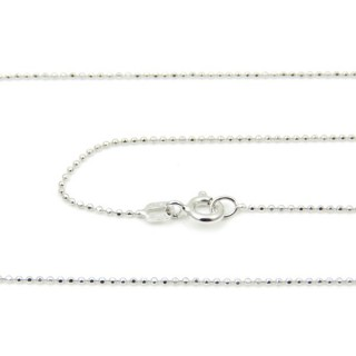 39057 CP 100 D RODIO 45 CMS STERLING SILVER CHAIN