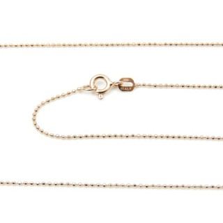 39061 CP 100 D ROSA 40 CMS STERLING SILVER CHAIN