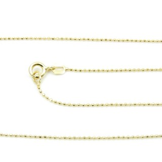 39066 CP 100 D ORO 40 CMS STERLING SILVER CHAIN