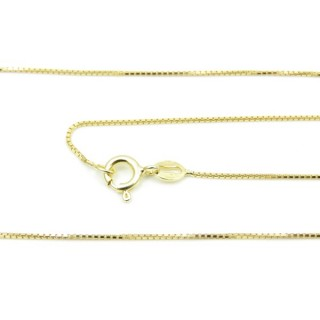39082 KVD 15/8 ORO 45 CMS STERLING SILVER CHAIN