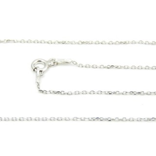 39116 KFD 25/4 RODIO 40 CMS STERLING SILVER CHAIN