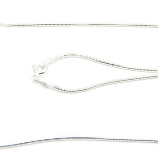 39213 TOPO 1.6 50 CMS STERLING SILVER CHAIN