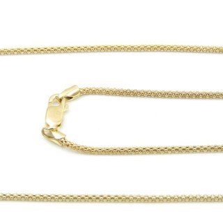 39192 CORB 16 ORO 45 CMS STERLING SILVER CHAIN