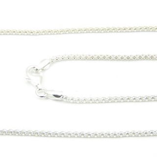 39177 CORB 18 45 CMS STERLING SILVER CHAIN
