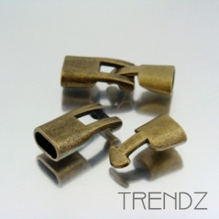 17890 BRONCE PACK OF 5 FASHION T BAR CLASPS