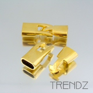 17890 ORO PACK OF 5 FASHION T BAR CLASPS
