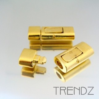 17872 GOLD PACK OF 5 CLIP TYPE JEWELRY CLASPS