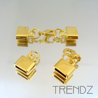 17886 ORO PACK 5 RING AND LOBSTER LOCK CLASPS