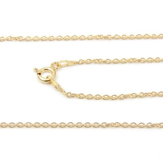 39261 FORZA 40 ND ORO 40 CMS STERLING SILVER CHAIN
