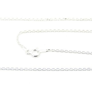 39172 FORZA 40 ND 45 CMS STERLING SILVER CHAIN