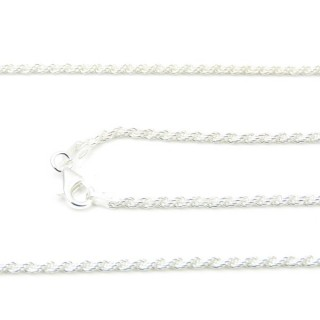 39220 CORDA 40 70 CMS STERLING SILVER CHAIN