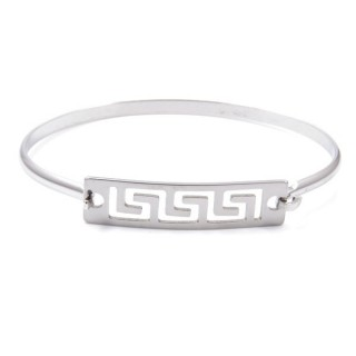 32311-03 STAINLESS STEEL BRACELET WITH CHARM