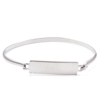 32311-10 STAINLESS STEEL BRACELET WITH CHARM