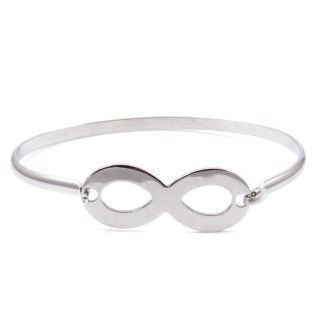 32311-11 STAINLESS STEEL BRACELET WITH CHARM
