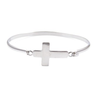 32311-13 STAINLESS STEEL BRACELET WITH CHARM