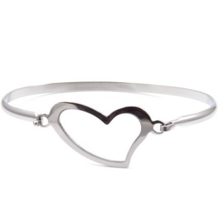32311-14 STAINLESS STEEL BRACELET WITH CHARM