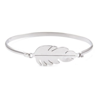 32311-24 STAINLESS STEEL BRACELET WITH CHARM
