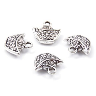 31871-19 PACK OF 10 FASHION JEWELRY 14 X 14 MM CHARMS