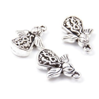 31871-21 PACK OF 6 FASHION JEWELRY 22 X 17 MM CHARMS