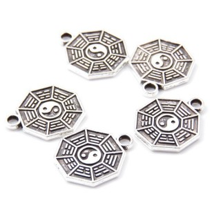 31871-29 PACK OF 20 FASHION JEWELRY 13 MM CHARMS