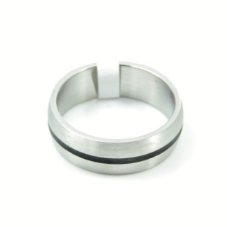 33671 PACK OF 10 STAINLESS STEEL RINGS IN ASSORTED SIZES WIDTH: 7 MM