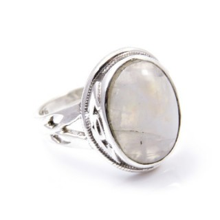 32934-07 ANILLO AJUSTABLE 20 X 17 MM CON PIEDRA LUNA