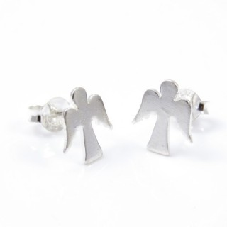 34100 PENDIENTES DE PLATA DE ANGEL 11 X 9 MM