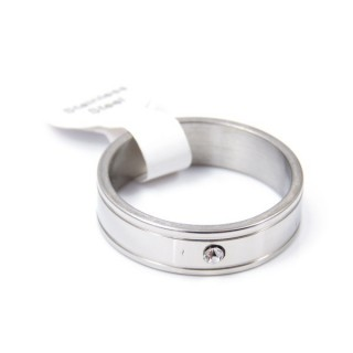33732 PACK OF 12 STAINLESS STEEL RINGS IN ASSORTED SIZES