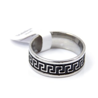 33734 PACK OF 12 STAINLESS STEEL RINGS IN ASSORTED SIZES