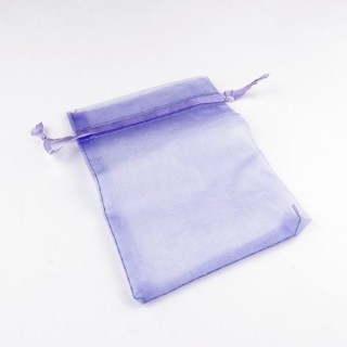 31795-01 PACK OF 100 9 X 12 CM ORGANZA BAGS IN LILAC