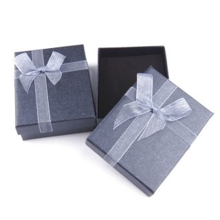 18822-01 PACK OF 12 BOXES FOR SETS 7 X 9 CM IN GREY