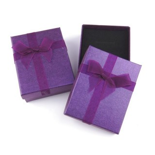 18822-02 PACK OF 12 BOXES FOR SETS 7 X 9 CM IN PURPLE