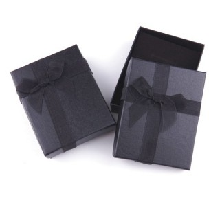 18822-04 PACK OF 12 BOXES FOR SETS 7 X 9 CM IN BLACK