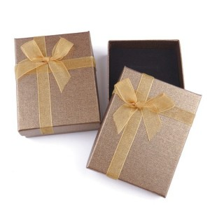 18822-05 PACK OF 12 BOXES FOR SETS 7 X 9 CM IN GOLD