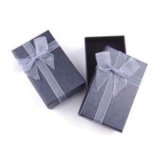 18821-01 PACK OF 24 BOXES FOR SETS 5 X 8 CM IN GREY